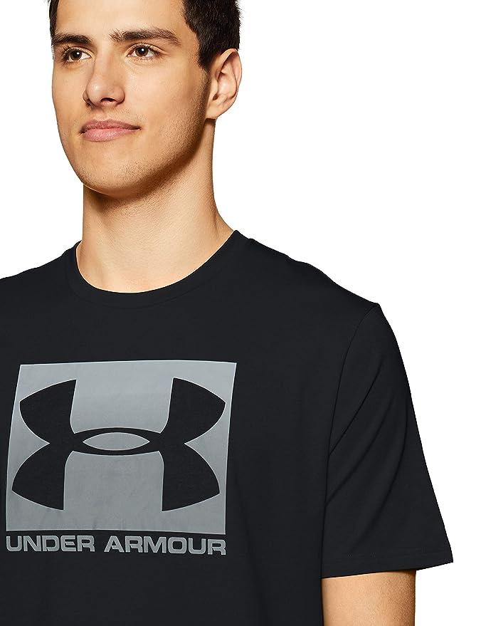 Under Armour UA Boxed Sportstyle SS Camiseta de Manga Corta 1b804a8b25a