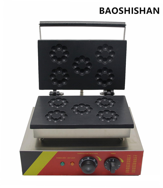 Boshi Electronic Instrument 110V/220V NP-3 Industrial Blossom Donut Machine Flower Donuts Baker CE Certification BAOSHISHAN