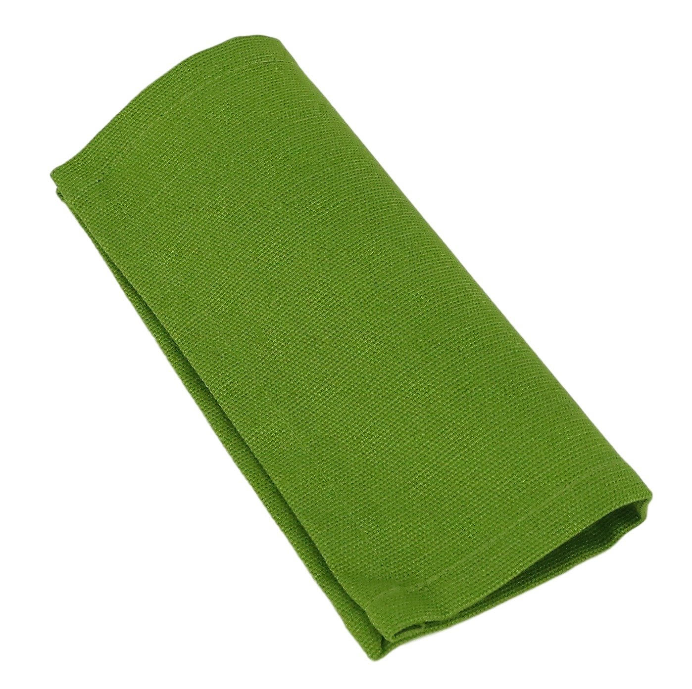 Cotton Set of 6 24 x 24 ShalinIndia Cloth Dinner Napkins Green Perfect for Weddings /& Dinner Parties