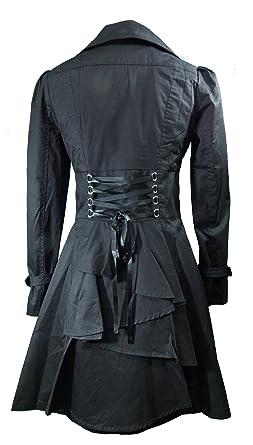 5e09410451 CS -Rainy Night in Paris- Black Victorian Gothic Corset Vintage Style  Jacket (P18