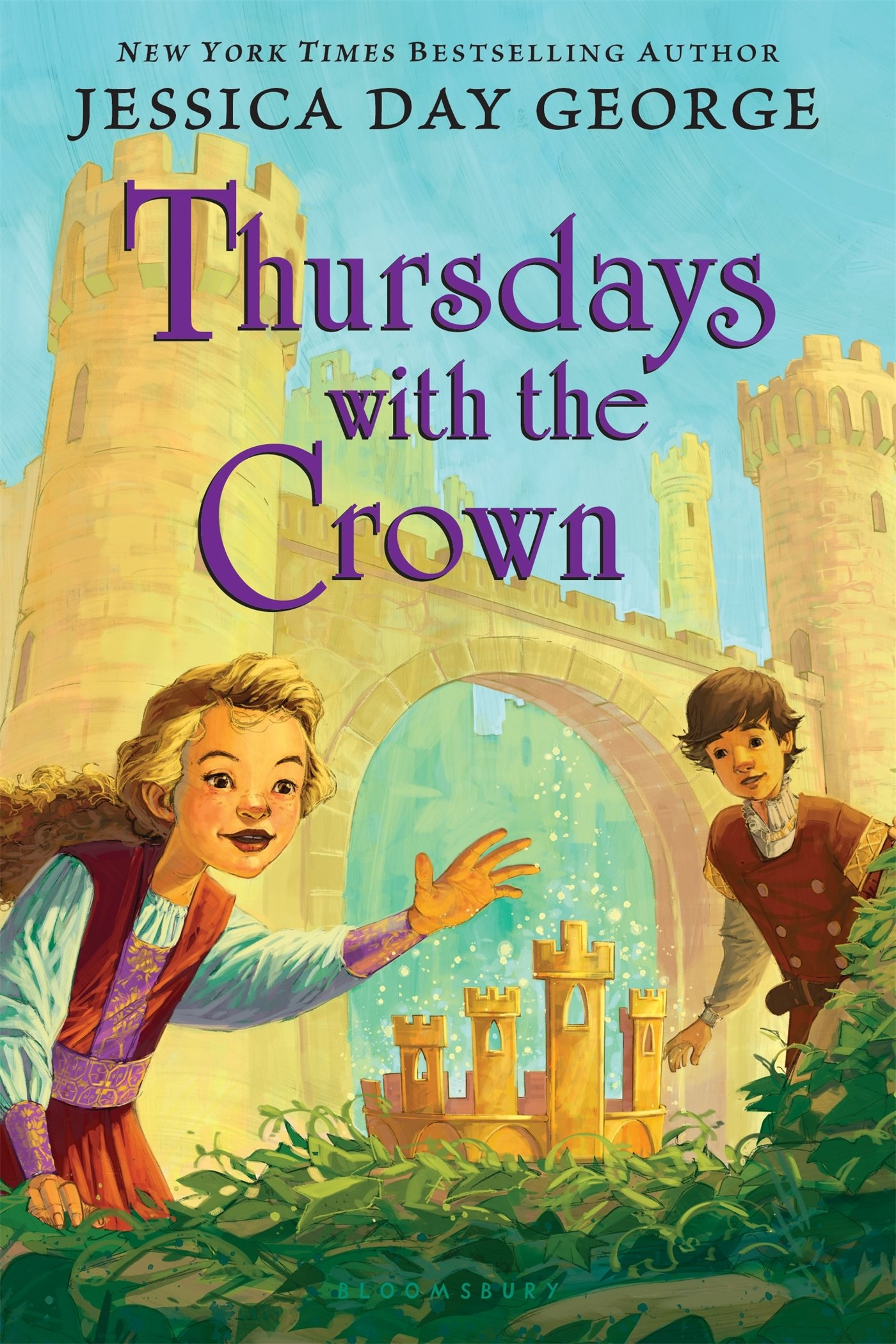 Thursdays With The Crown (tuesdays At The Castle): Jessica Day George:  9781619637962: Amazon: Books