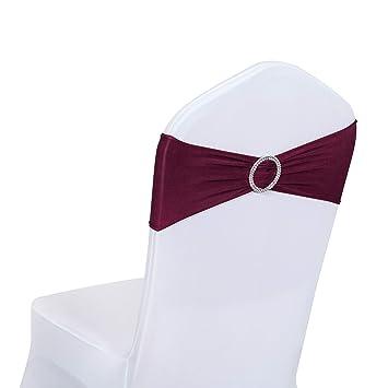 Amazon.com: Obstal - 10 fundas para sillas de comedor de ...