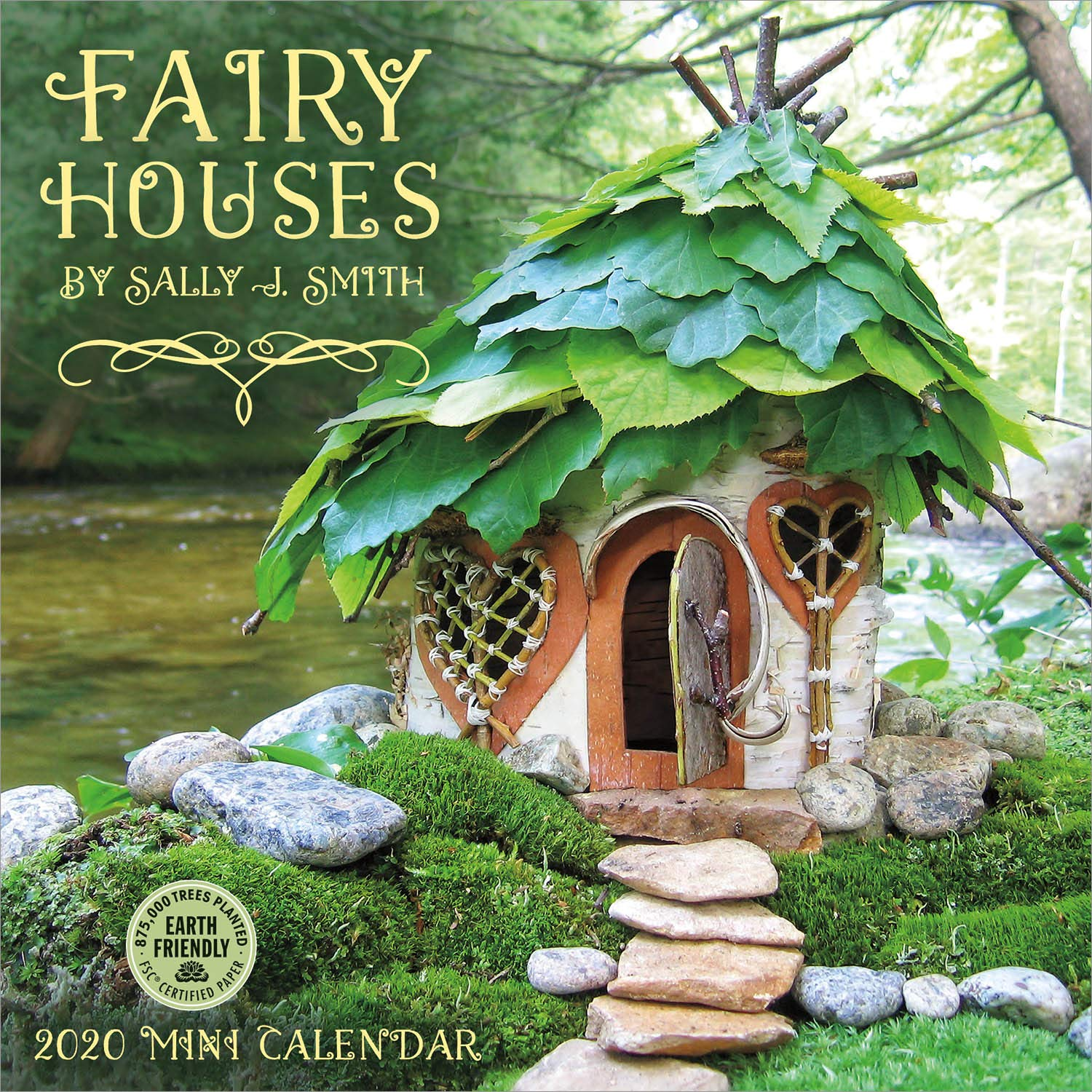 fairy houses 2020 wall calendar
