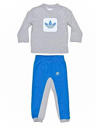 adidas Originals Trainingsanzug 39 BlauGrau: