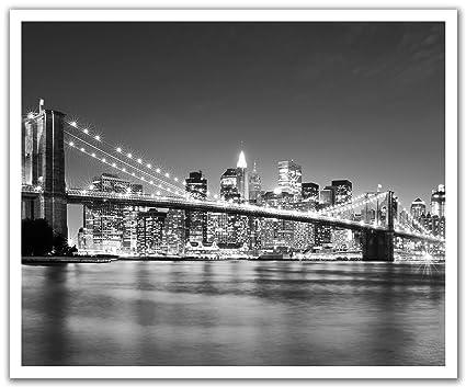 BROOKLYN BRIDGE NEW YORK CITY LANDMARK WALL DECOR DECAL