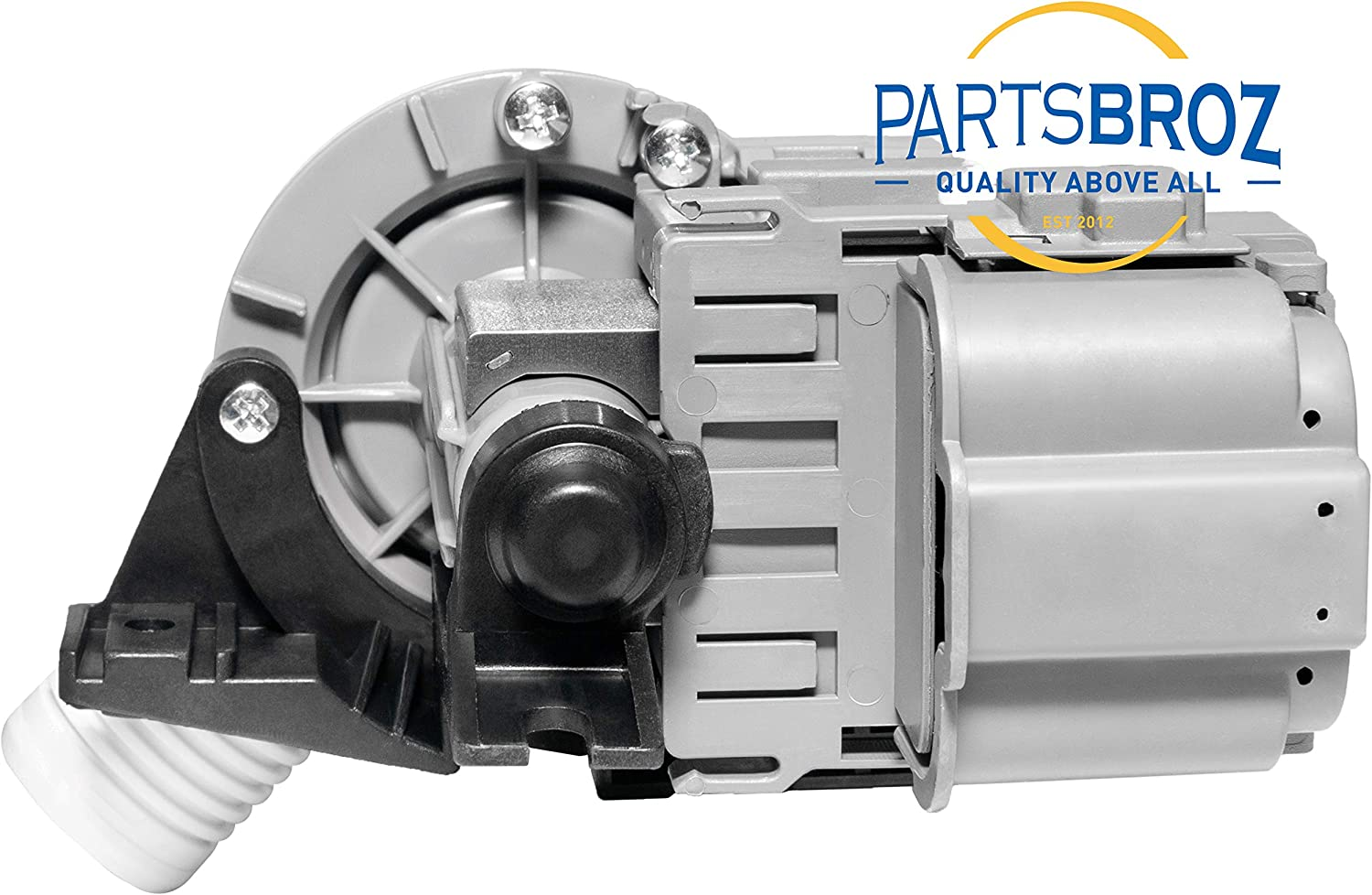 W10536347 Drain Pump Compatible with Whirlpool Washers by PartsBroz