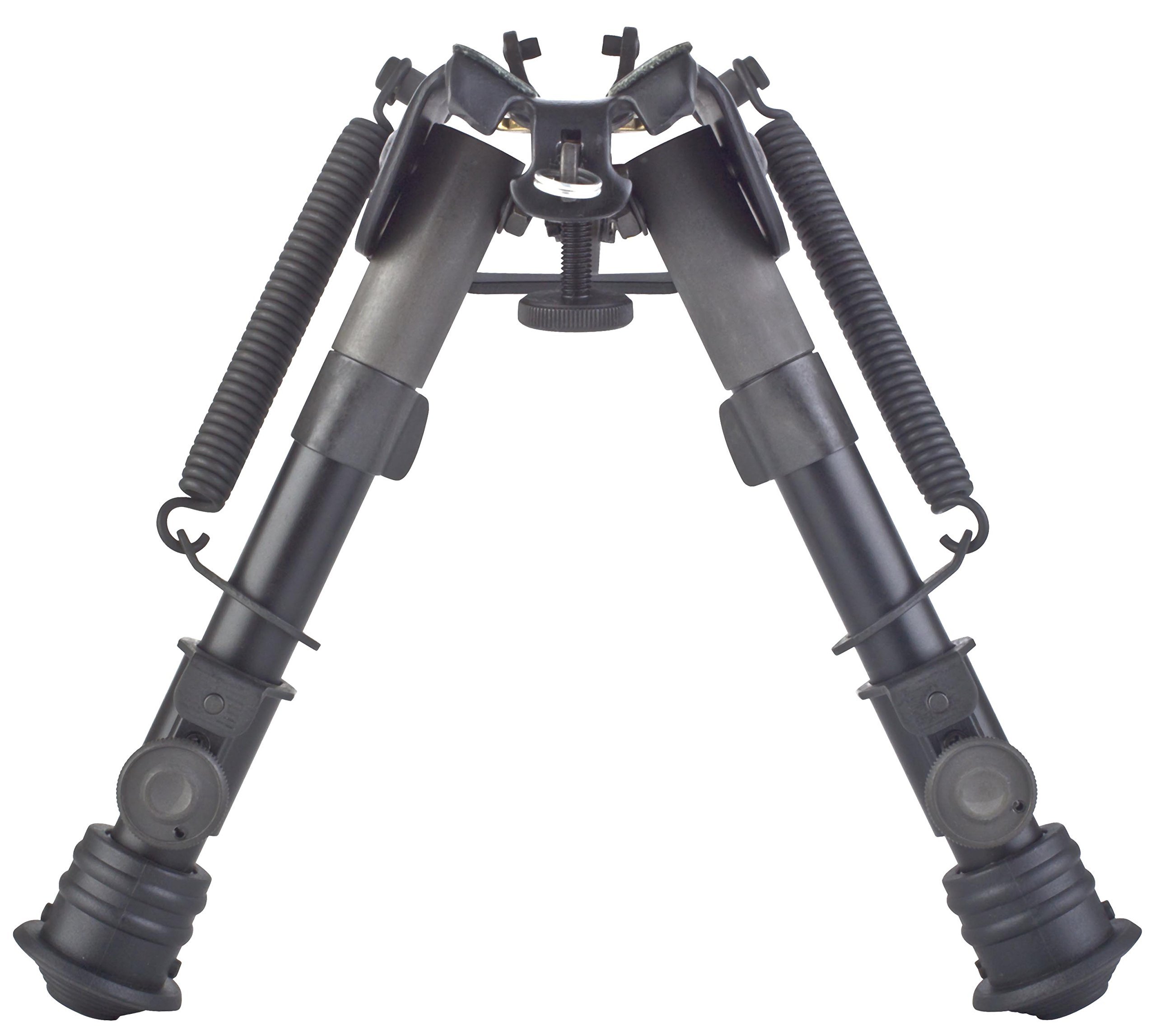 TipTop® EZ Hunting Rifle Bipod 6'' - 9'': Sling Stud Mount, Extendable, Folding, with Sling-attached Hole PN#S3-34659