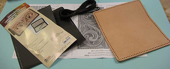 Ncr Checkbook Cover Insert Wallet Credit Card Holder Leathercraft Tandy