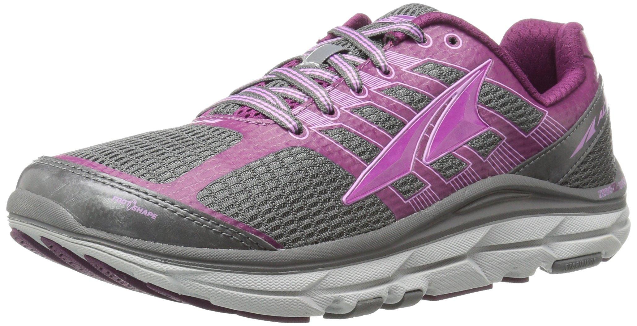 Altra Provision 3.0 Women's Road Running Shoe, Gray/Purple, 8.5