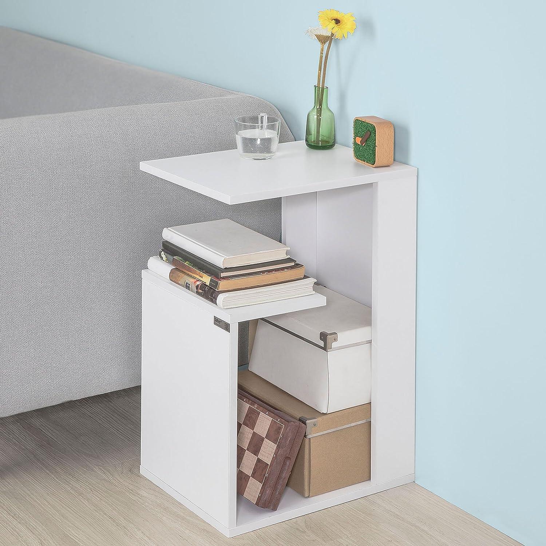 Accessori Per Tavolino Da Divano Moderno Libreria Bassa Bianca Bianco Fbt69 W