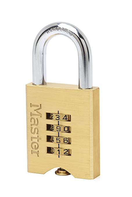 Fences and More Best Used for Storage Units Excell/® Laminated Steel Padlock Master Lock Padlock Keyed Lock Garages Sheds High Security Lock
