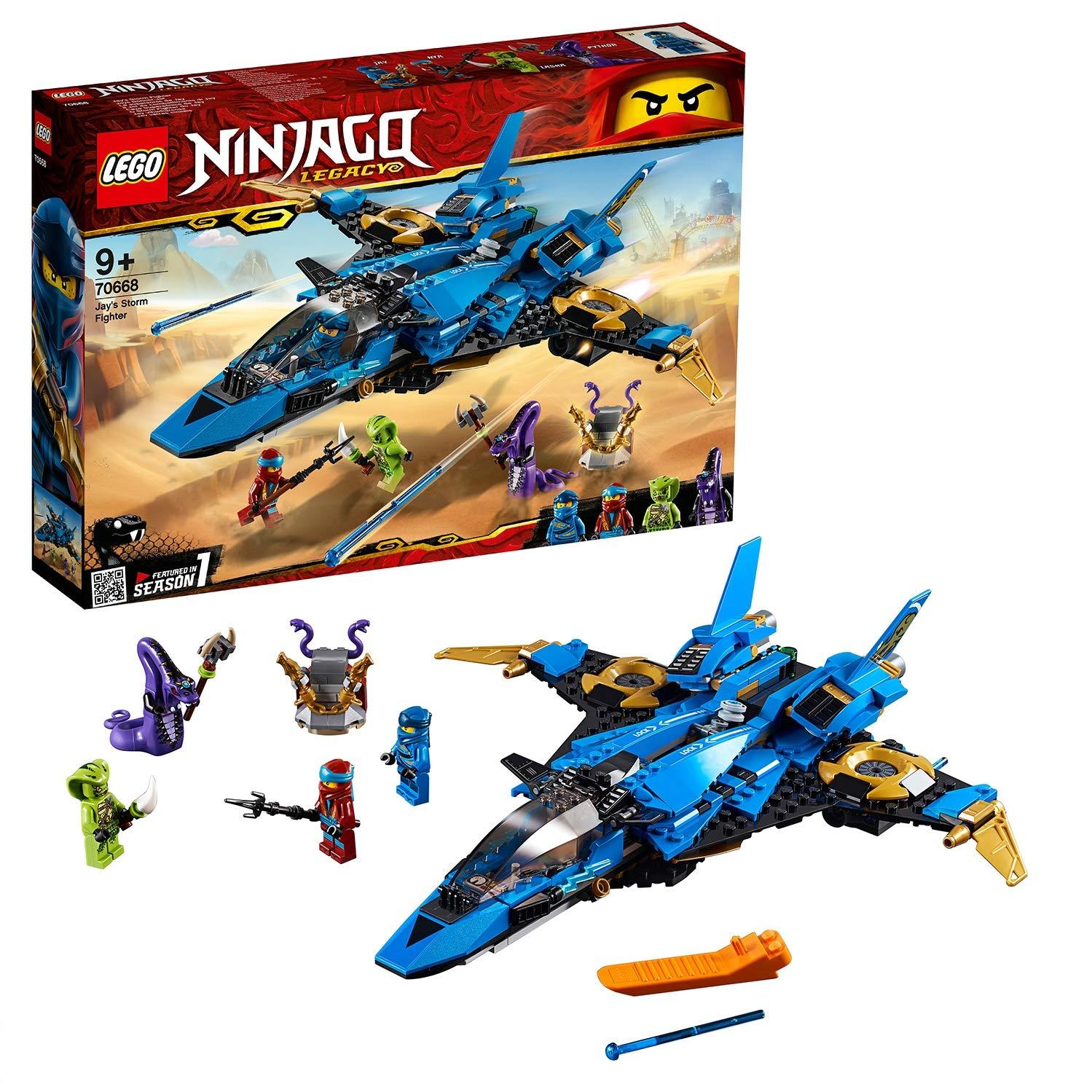 achat LEGO NINJAGO - Le supersonic de Jay - 70668 - Jeu de construction pas cher prix