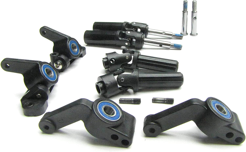 Bandit Vxl Axle Stubs Hubs Bearings Front Rear 3736 2432 3752 1651 Traxxas 2407