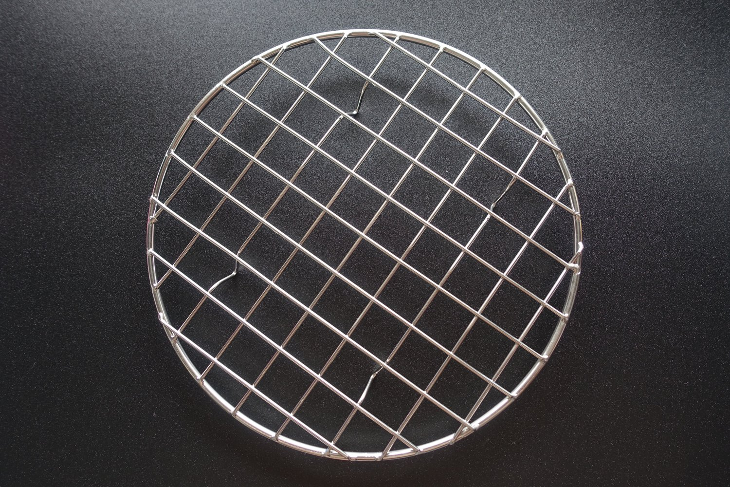 B&S FEEL Multi-Purpose Stainless Steel Round Baking and Cooling Rack, 8.25-Inches