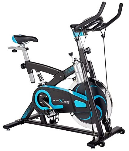 Body Xtreme Fitness Exercise Bike Home Gym Equipment Workout At 40lb Flywheel