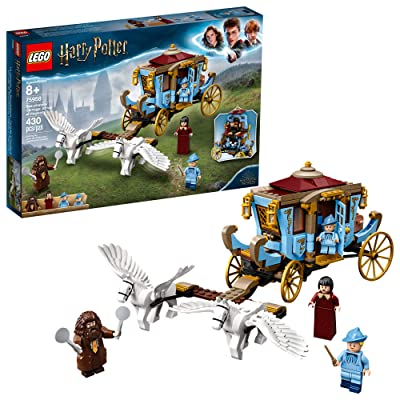 LEGO Harry Potter and The Goblet of Fire Beauxbatons' Carriage: Arrival at Hogwarts 75958 Building Kit (430 Pieces): Toys & Games