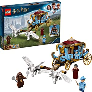 LEGO Harry Potter and The Goblet of Fire Beauxbatons' Carriage: Arrival at Hogwarts 75958 Building Kit, New 2019 (430 Pieces)