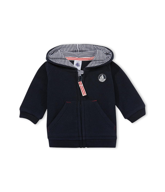 Petit Bateau Baby-Jungen Kapuzenpullover Sweat Sht A Capuche Petit Bateau GmbH 12977