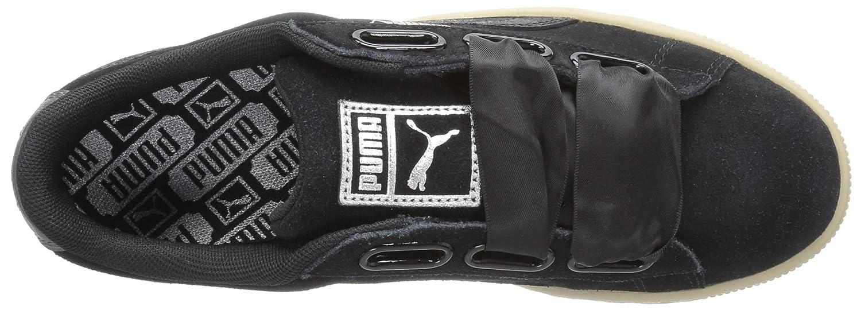 PUMA Woherren Suede Heart Safari Wn Turnschuhe, schwarz schwarz schwarz schwarz, 10.5 M US 03badb