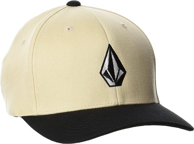VOLCOM JAX FLATBILL MEN/'S GRAY BLACK /& BLUE FLEXFIT HAT CAP VARIOUS SIZES NWT