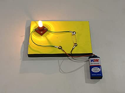 Project Hub™ -Simple Electric Circuit with Switch | School Science Project  Working Model, DIY Kit