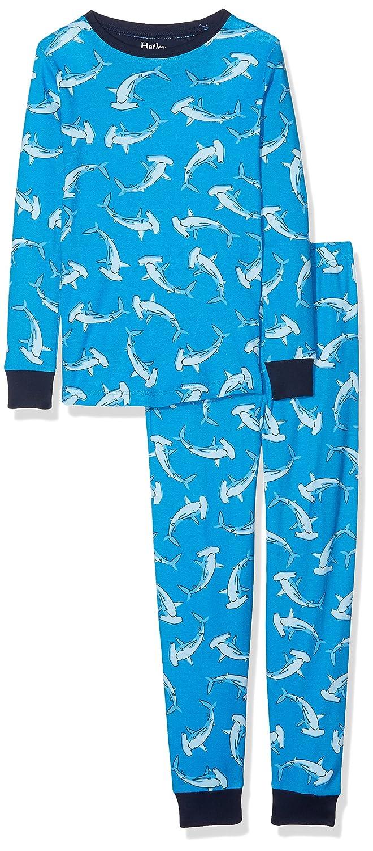 3e3ed219e2 Hatley Boy s Long Sleeve Printed Pyjama Set  Amazon.co.uk  Clothing