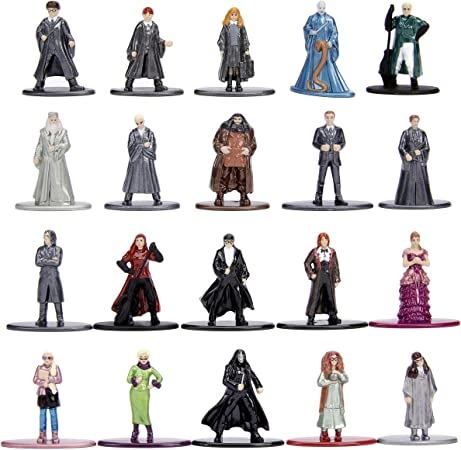 Harry Potter Nano Metalfigs 20 Pack Wave 3 Die-Cast Figures 1.65-In Collectible