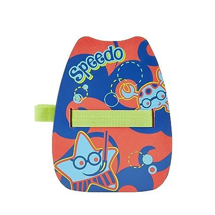 Speedo Sea Squad Back Float Flotador de Espalda, Unisex bebé, Lava Red, Talla