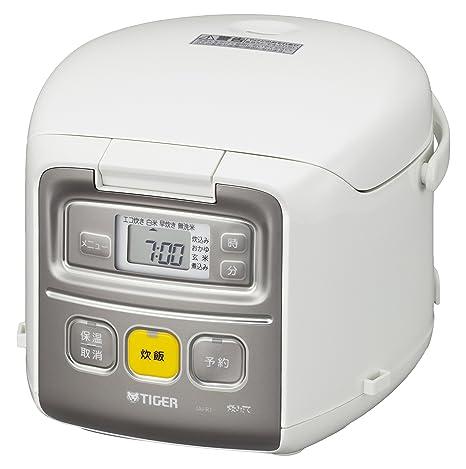 タイガー 炊飯器 3合 一人暮らし用 マイコン ホワイト 炊きたて ミニ JAI-R551-W