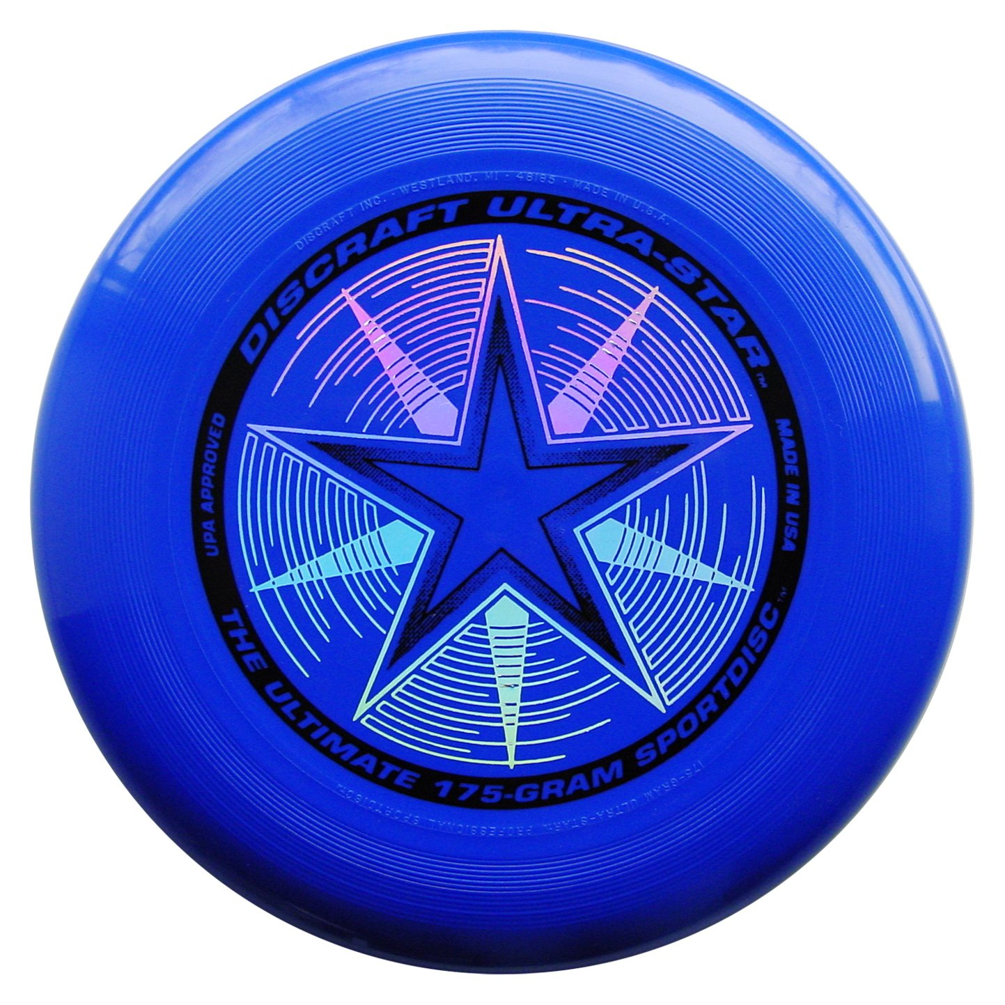 Discraft 175 gram Ultra Star Sport Disc, Royal Blue with Deluxe Packaging by Discraft