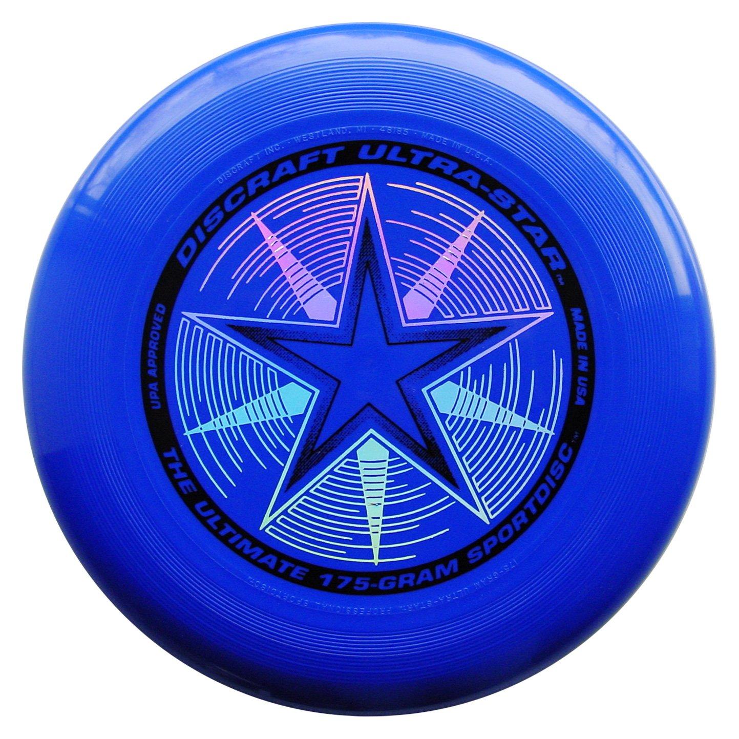 Frisbee Profesional Discraft 175 gr./27cm Azul Royal Deluxe
