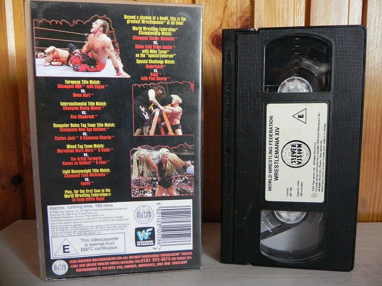 WWF - Wrestlemania 14 [Reino Unido] [VHS]: Amazon.es: Steve ...