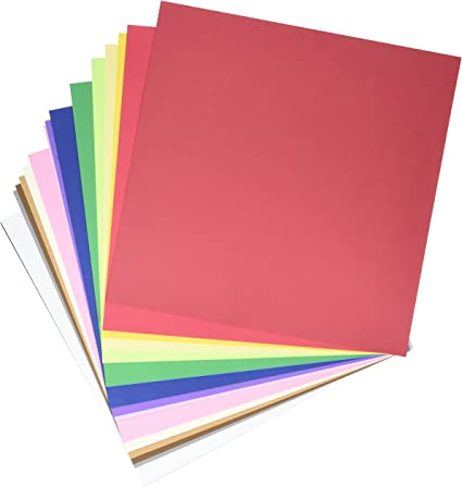Darice Core/'dinations Smooth Cardstock 12 X12 Inches World Tour Assortment