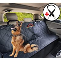 YoGi LifeStyle Dog Car Seat Cover for Large Dogs -Not Hammock- Heavy Duty Dog Waterproof Backseat Covers, Pets Seat Protectors for Cars Trucks SUV XL Truck Bench Back Seats Covers for Dogs Universal fit