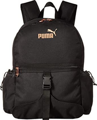 Amazon.com | PUMA Womens Pacific Yoga Backpack Black/Gold One Size | Backpacks