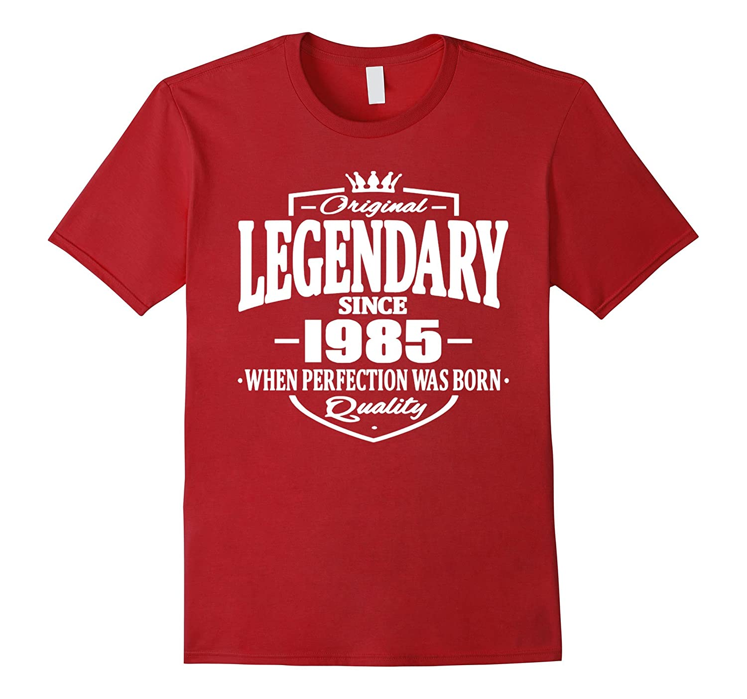 32 year old birthday gifts LIVING LEGEND SINCE 1985 T Shirt-TH