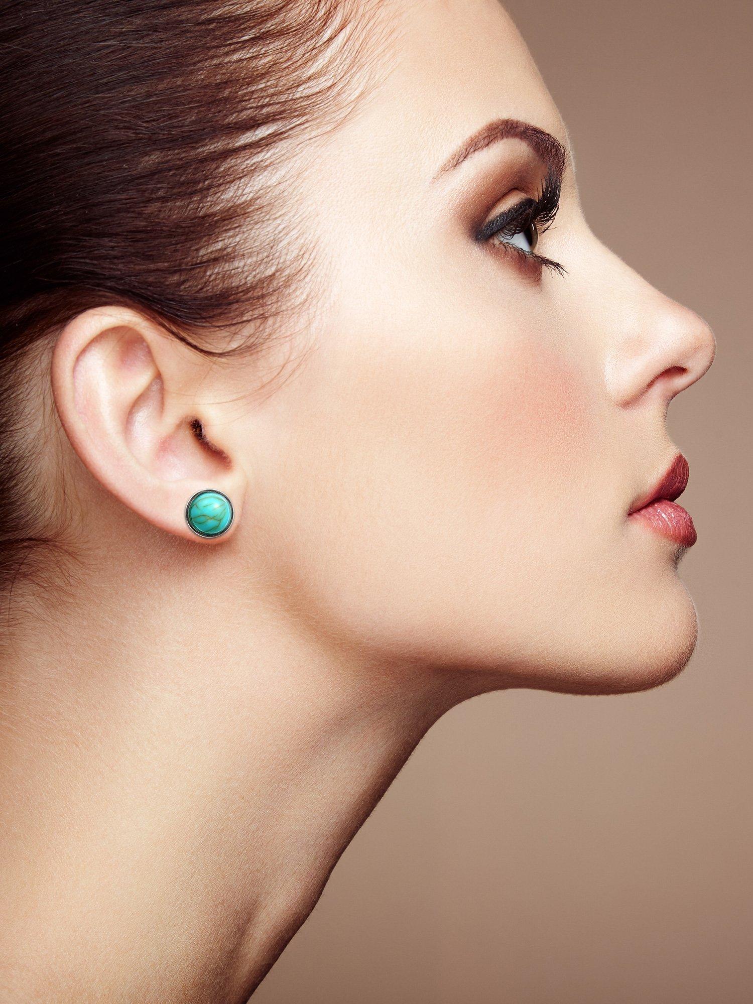 Delicate Stud Earrings