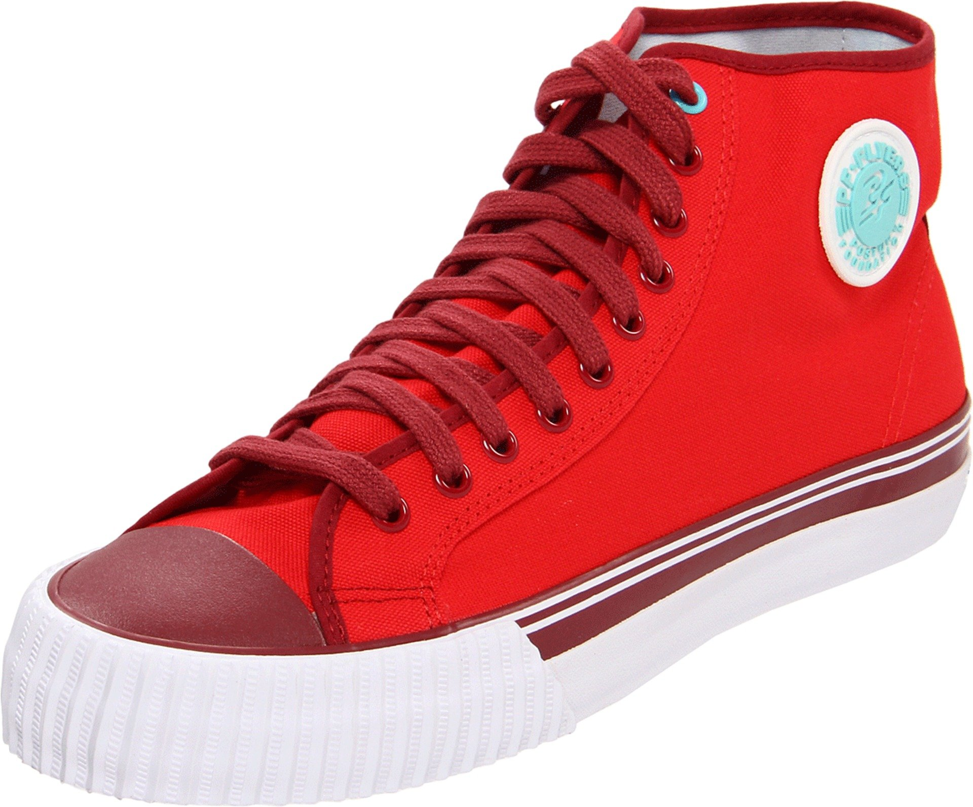 PF Flyers Center Hi Sneaker,Red,5.5 D US by PF Flyers