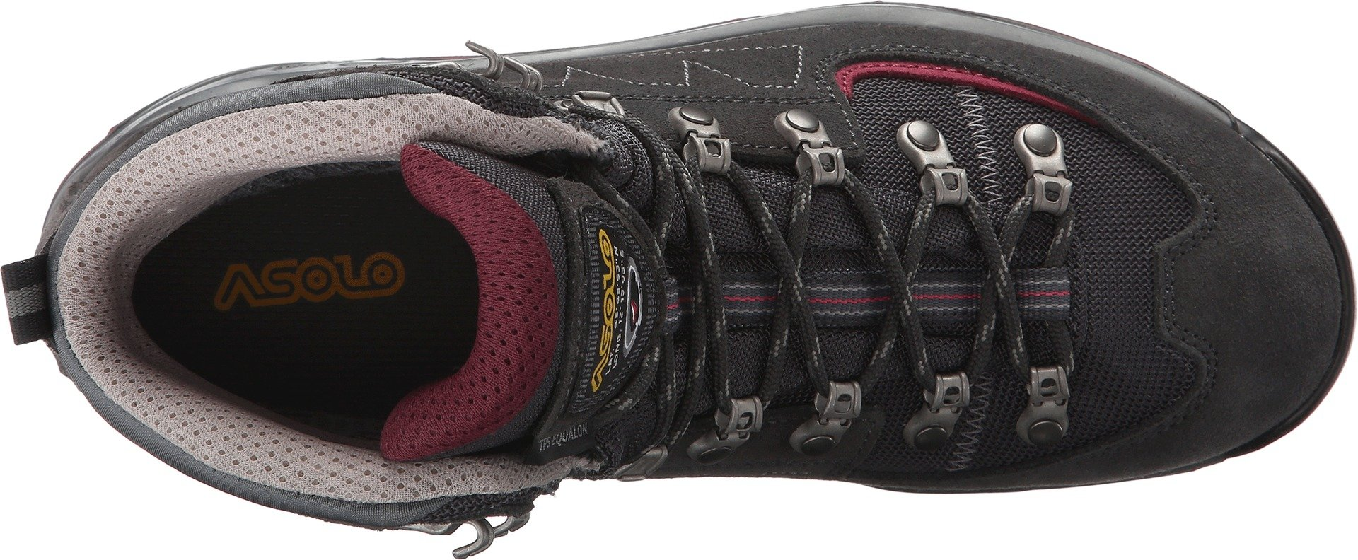 Asolo Women's TPS Equalon GV EVO Graphite/Red Bud 6 B US by Asolo (Image #2)