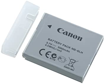 Canon NB-6LH - Batería para cámara de Fotos (3.7 V, 1060 mAh, 4 W)