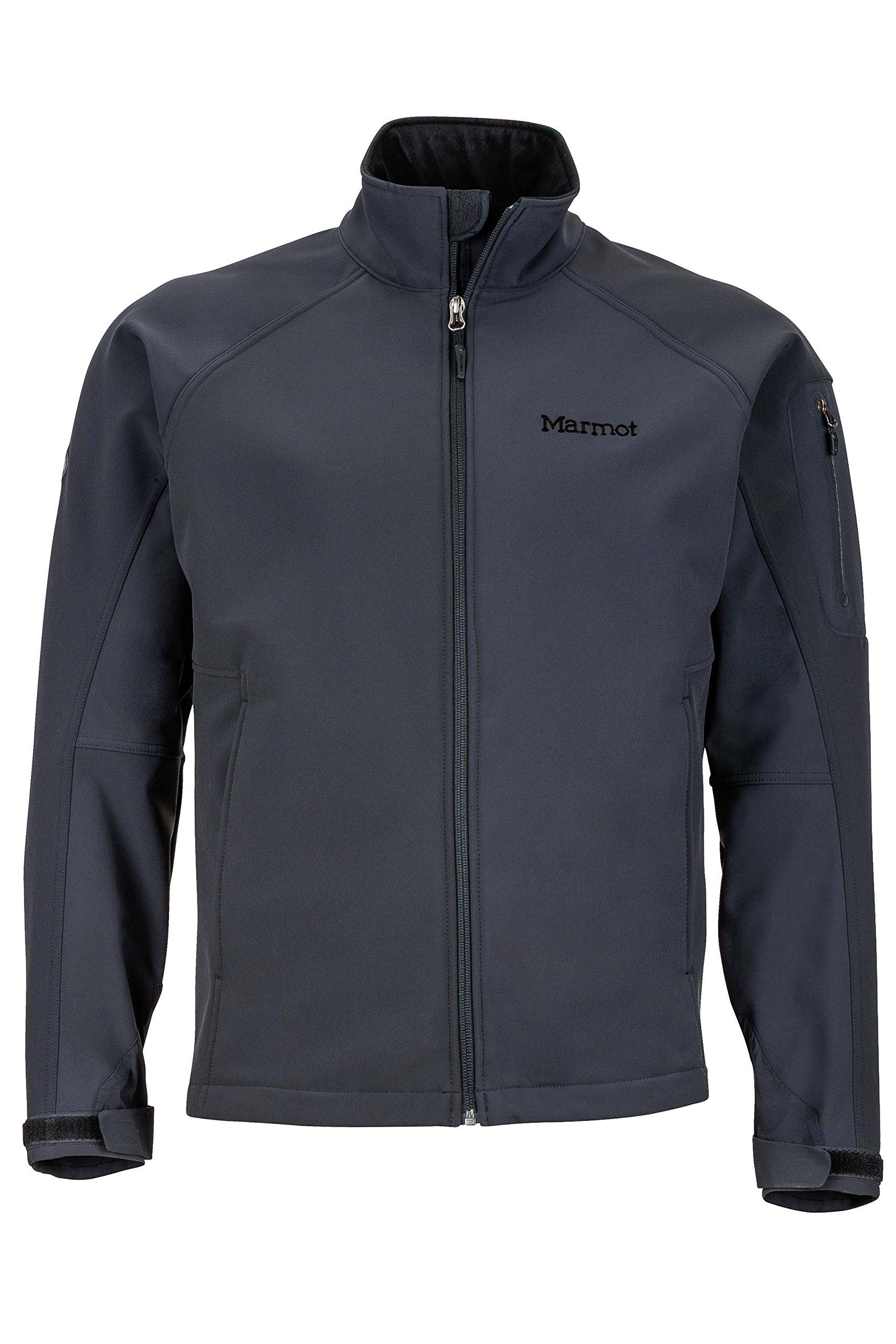 Marmot Gravity Men's Softshell Windbreaker Jacket, Jet Black, Large by Marmot