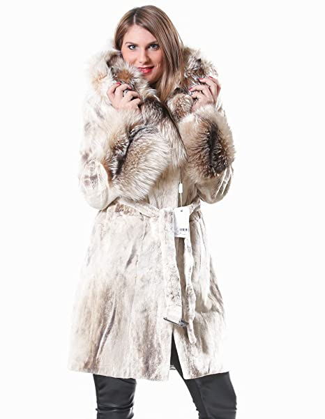 cappotto rasato donna