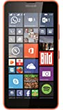 Microsoft Lumia 640 Smartphone, Dual-SIM, Display HD-IPS 5 Pollici, Processore Quad-Core 1,2GHz, Fotocamera 8 MP, Memoria 8GB, Win 8.1, Arancione [Germania]