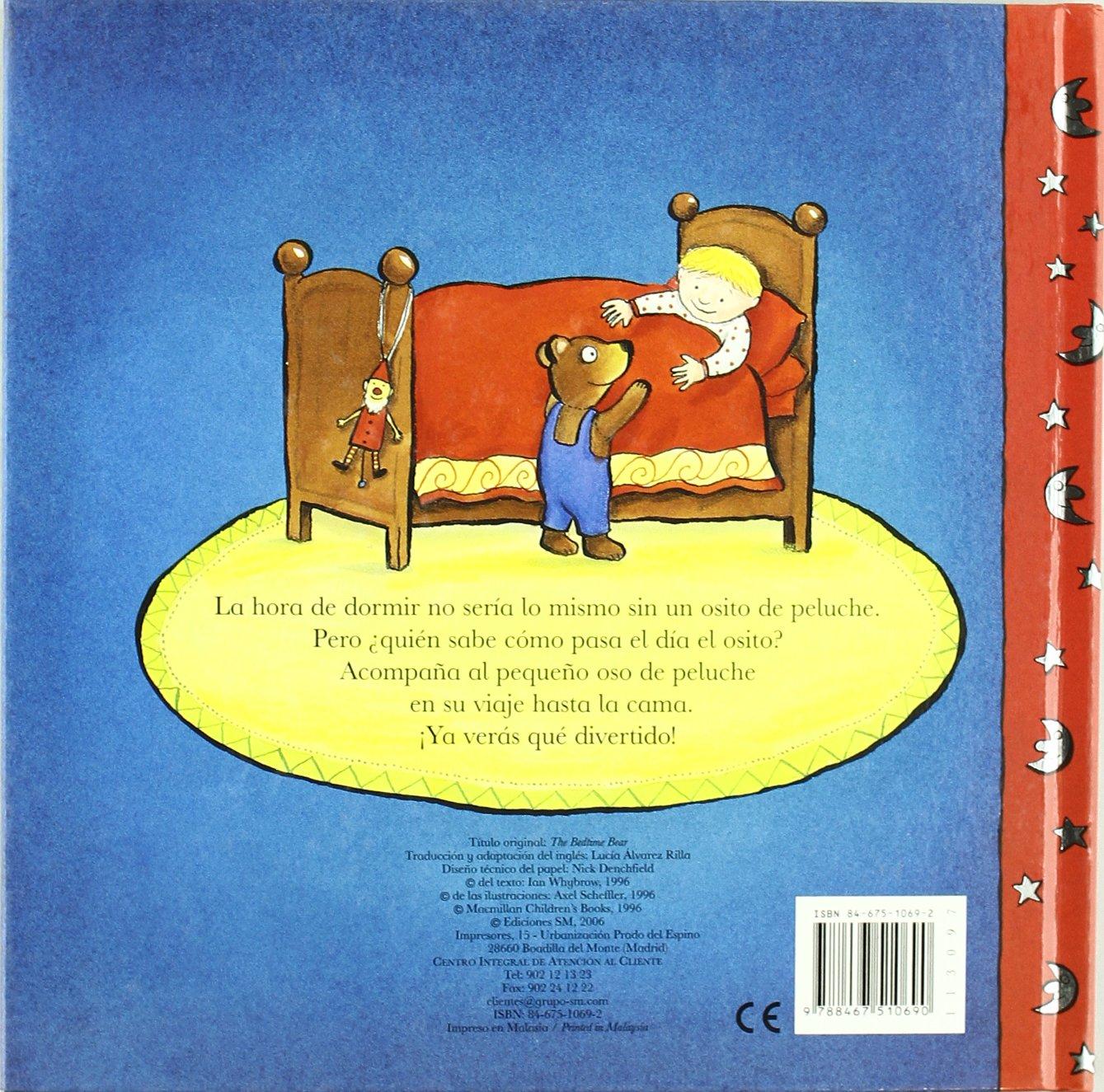 El osito de peluche / The Bedtime Bear (Spanish Edition): Ian Whybrow, Axel Scheffler, Lucia Alvarez Rilla: 9788467510690: Amazon.com: Books