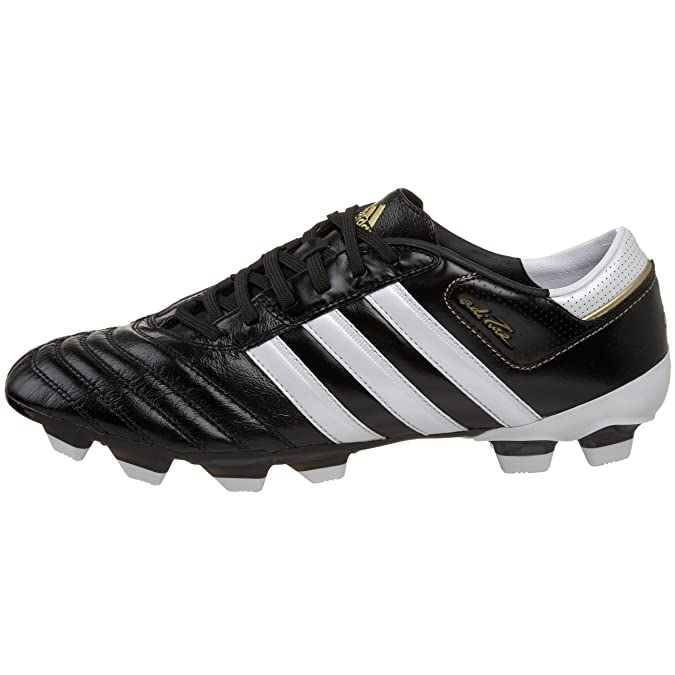 separation shoes 4ce9b 03330 Adidas Men s Adipure III TRX FG Soccer Cleat, Black White Gold (UCL), 4 M   Buy Online at Low Prices in India - Amazon.in