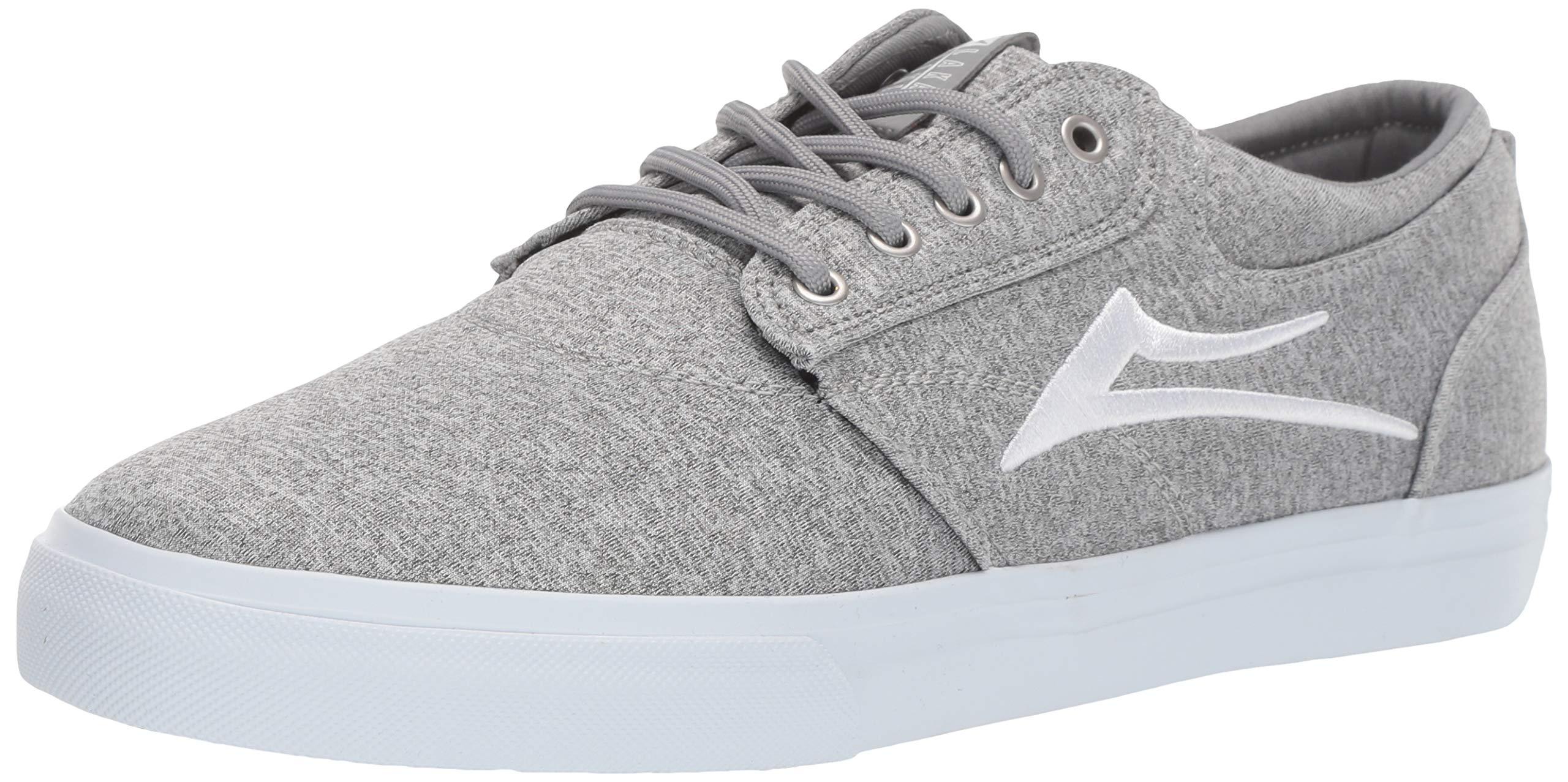 Lakai Limited Footwear Mens Griffin Skate Shoe Grey Textile 11 M US by Lakai Limited Footwear Mens