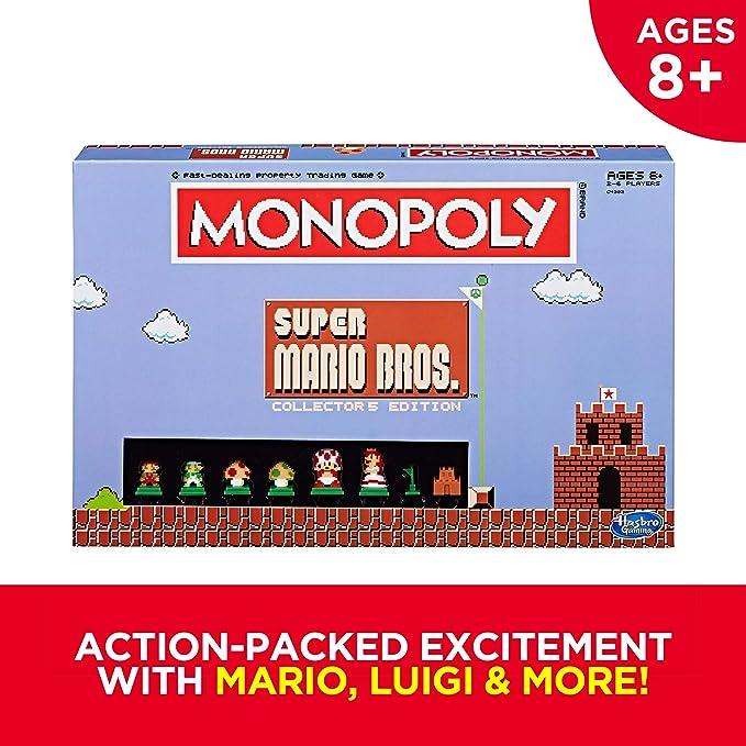 Exclusive Super Mario Bros Collectors Edition Board Game ,Multi ...