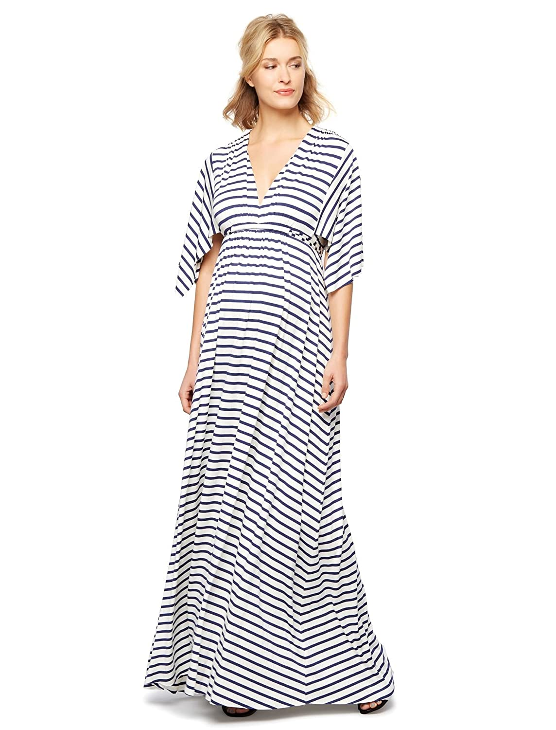 Amazon rachel pally striped caftan maternity maxi dress clothing ombrellifo Image collections