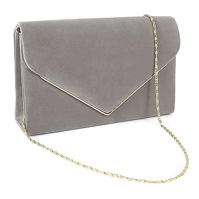 Online-Verkauf beste Angebote für Outlet-Boutique Kunstwildleder Umschlag Damentasche Abendtasche Wildleder Clutch Handtasche