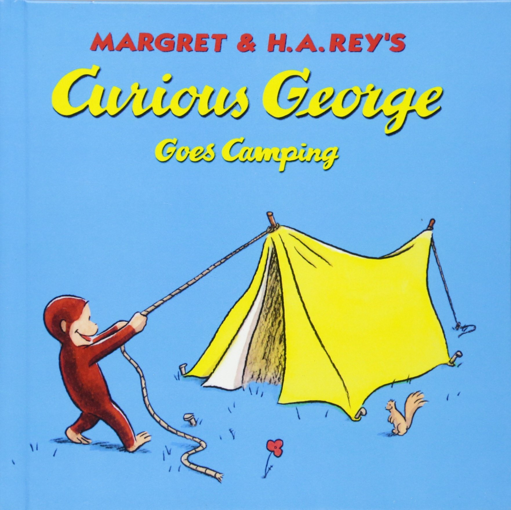 Curious George Goes Camping (Turtleback School & Library Binding Edition)